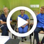 Film ukazujący zajęcia na kierunku Pielęgniarstwo.