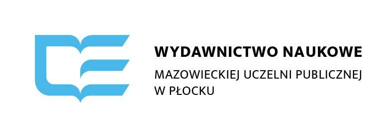 Logo Wydawnictwa Naukowego Mazowieckiej Uczelni Publicznej w Płocku