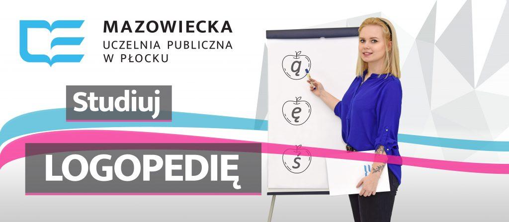 banner promocyjny logopedia