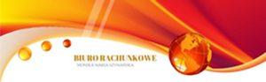 Logotyp biura rachunkowego Moniki Marii Szymańskiej
