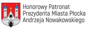 Logotyp patronatu Prezydenta Miasta Płocka Andrzeja Nowakowskiego