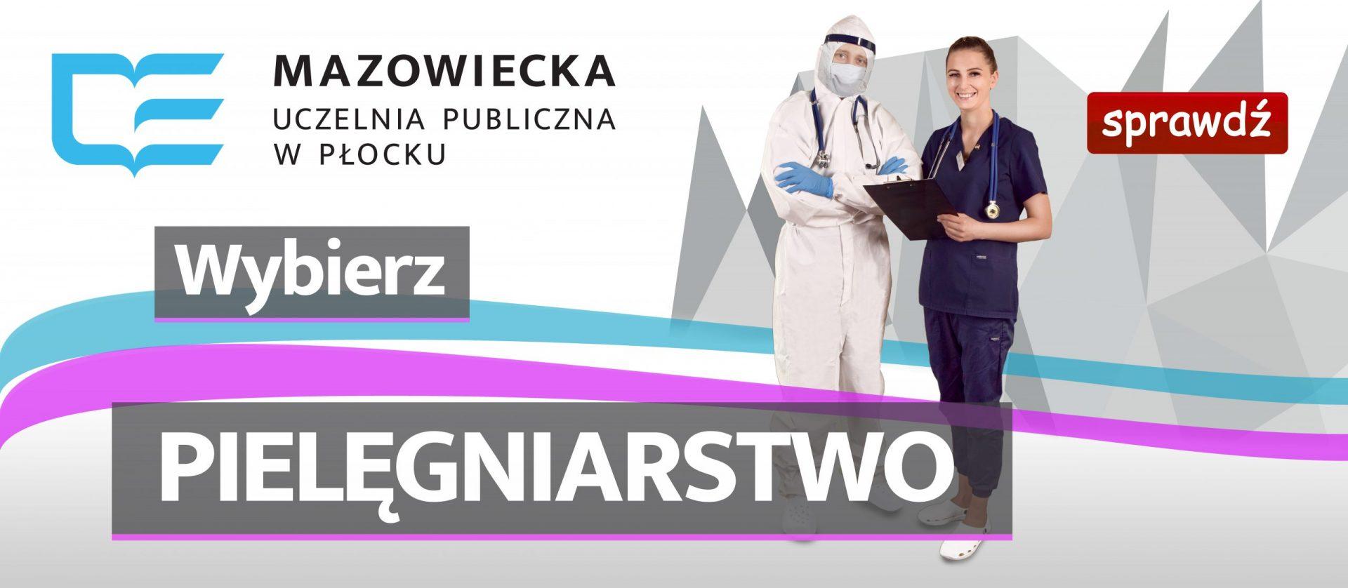Banner reklamujący pielęgniarstwo