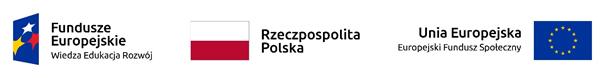 Logotypy projektów unijnych