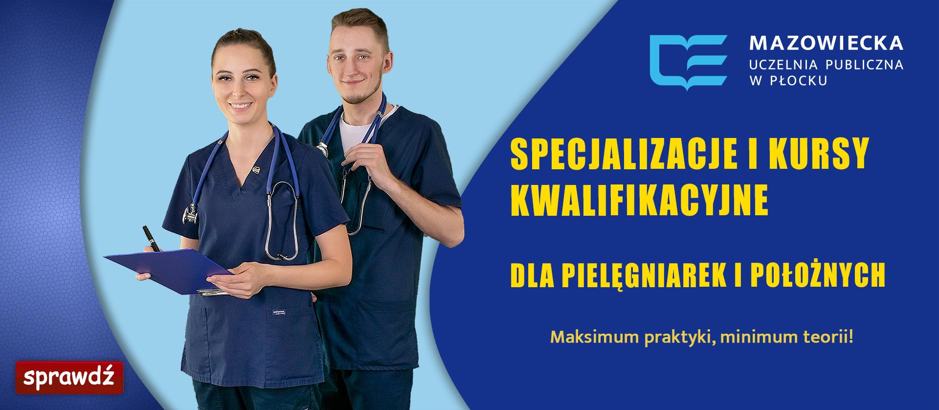 promocja kursów dla pielęgniarek i położnych
